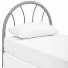 Modway Damaris Twin Steel Headboard in Gray MY-MOD-5538-GRY