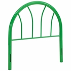 Modway Damaris Twin Steel Headboard in Green MY-MOD-5538-GRN