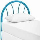 Modway Damaris Twin Steel Headboard in Light Blue MY-MOD-5538-LBU