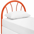 Modway Damaris Twin Steel Headboard in Orange MY-MOD-5538-ORA