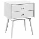 Modway Dispatch Nightstand in White MY-EEI-2284-WHI-WHI