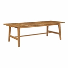 Modway Dorset Outdoor Patio Teak Wood Dining Table in Natural MY-EEI-2713-NAT
