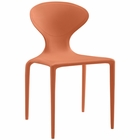 Modway Draw Dining Side Chair in Orange MY-EEI-1715-ORA