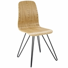 Modway Drift Bentwood Wood Dining Side Chair in Natural MY-EEI-2671-NAT