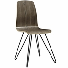 Modway Drift Bentwood Wood Dining Side Chair in Walnut MY-EEI-2671-WAL