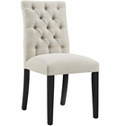 Modway Duchess Parsons Upholstered Fabric Dining Side Chair in Beige MY-EEI-2231-BEI
