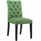Modway Duchess Parsons Upholstered Fabric Dining Side Chair in Kelly Green MY-EEI-2231-GRN