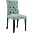 Modway Duchess Parsons Upholstered Fabric Dining Side Chair in Laguna MY-EEI-2231-LAG