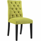 Modway Duchess Parsons Upholstered Fabric Dining Side Chair in Wheatgrass MY-EEI-2231-WHE