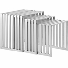 Modway Duct Nesting Table in Silver MY-EEI-2094-SLV