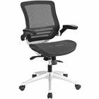 Modway Edge Mesh Office Chair in Black MY-EEI-2064-BLK