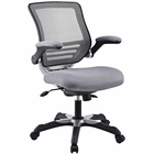 Modway Edge Mesh Office Chair in Gray MY-EEI-594-GRY