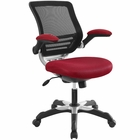 Modway Edge Mesh Office Chair in Red MY-EEI-594-RED