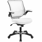 Modway Edge Mesh Office Chair in White MY-EEI-594-WHI