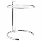 Modway Eileen Gray Chrome Side Table in Silver MY-EEI-125-SLV