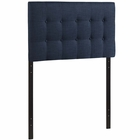 Modway Emily Twin Tufted Upholstered Fabric Headboard in Navy MY-MOD-5176-NAV