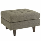 Modway Empress Upholstered Fabric Ottoman in Oatmeal MY-EEI-1667-OAT