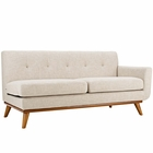 Modway Engage Right-Arm Upholstered Fabric Loveseat in Beige MY-EEI-1792-BEI