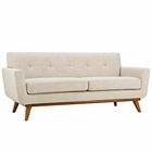 Modway Engage Upholstered Fabric Loveseat in Beige MY-EEI-1179-BEI