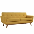 Modway Engage Upholstered Fabric Loveseat in Citrus MY-EEI-1179-CIT