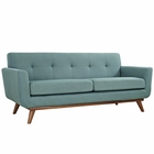 Modway Engage Upholstered Fabric Loveseat in Laguna MY-EEI-1179-LAG