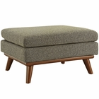 Modway Engage Upholstered Fabric Ottoman in Oatmeal MY-EEI-1797-OAT