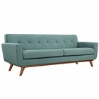 Modway Engage Upholstered Fabric Sofa in Laguna MY-EEI-1180-LAG