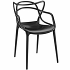 Modway Entangled Dining Armchair in Black MY-EEI-1458-BLK