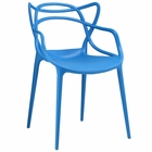 Modway Entangled Dining Armchair in Blue MY-EEI-1458-BLU