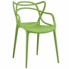 Modway Entangled Dining Armchair in Green MY-EEI-1458-GRN