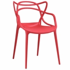 Modway Entangled Dining Armchair in Red MY-EEI-1458-RED