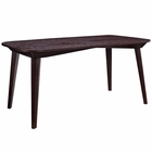 Modway Enterprise Rectangle Dining Table in Walnut MY-EEI-1099-WAL
