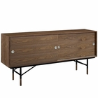 Modway Envoy Walnut Stand in Walnut MY-EEI-2238-WAL-WAL