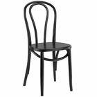 Modway Eon Dining Elm Wood Side Chair in Black MY-EEI-1543-BLK