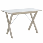 Modway Expanse Wood Writing Desk in Natural White MY-EEI-2784-NAT-WHI