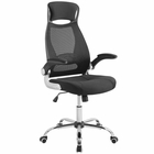 Modway Expedite Highback Office Chair in Black MY-EEI-3039-BLK