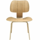 Modway Fathom Dining Wood Side Chair in Natural MY-EEI-620-NAT
