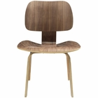 Modway Fathom Dining Wood Side Chair in Walnut MY-EEI-620-WAL