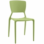 Modway Fine Dining Side Chair in Green MY-EEI-1705-GRN
