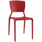 Modway Fine Dining Side Chair in Red MY-EEI-1705-RED