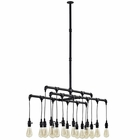 Modway Firefly Ceiling Fixture in Brown MY-EEI-2211-BRN