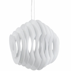 Modway Fish Aluminum Chandelier in White MY-EEI-1231-WHI