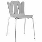 Modway Flare Dining Side Chair in Gray MY-EEI-1496-GRY