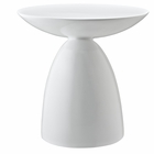 Modway Flow Fiberglass Side Table in White MY-EEI-1101-WHI