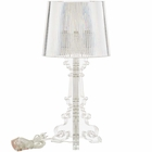 Modway French Petite Acrylic Acrylic Table Lamp in Clear MY-EEI-2896-CLR