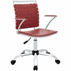 Modway Fuse Office Chair in Red MY-EEI-1109-RED