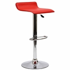 Modway Gloria Faux Leather Bar Stool in Red MY-EEI-579-RED