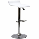 Modway Gloria Faux Leather Bar Stool in White MY-EEI-579-WHI