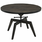 Modway Grasp Wood Top Coffee Table in Black MY-EEI-1209-BLK