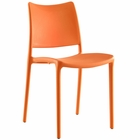 Modway Hipster Dining Side Chair in Orange MY-EEI-1703-ORA